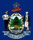 State of Maine Flag - snowmobile info