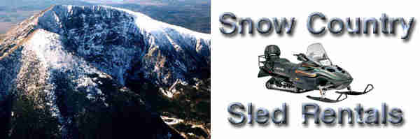 Snow Country Sled Rentals