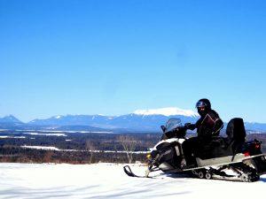 ITS 109 to 111 X-Over trail near Millinocket, Maine.
