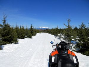 Current Maine snowmobile trail reports and conditions.